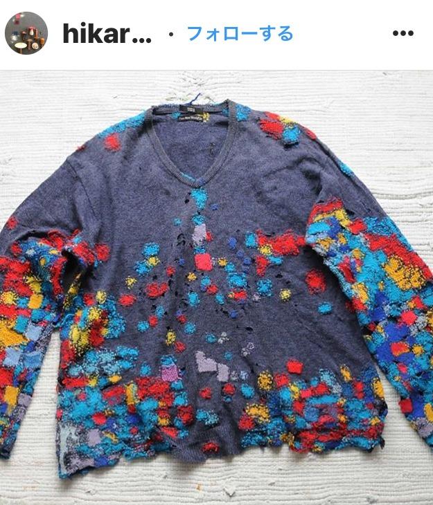 ダーニング・セーター