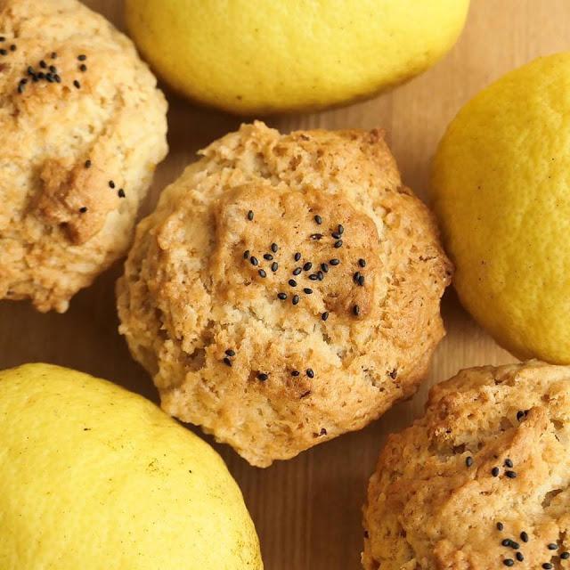 みずたま農園さんの無農薬レモンで作った「ヴィーガン・レモン・マフィン」