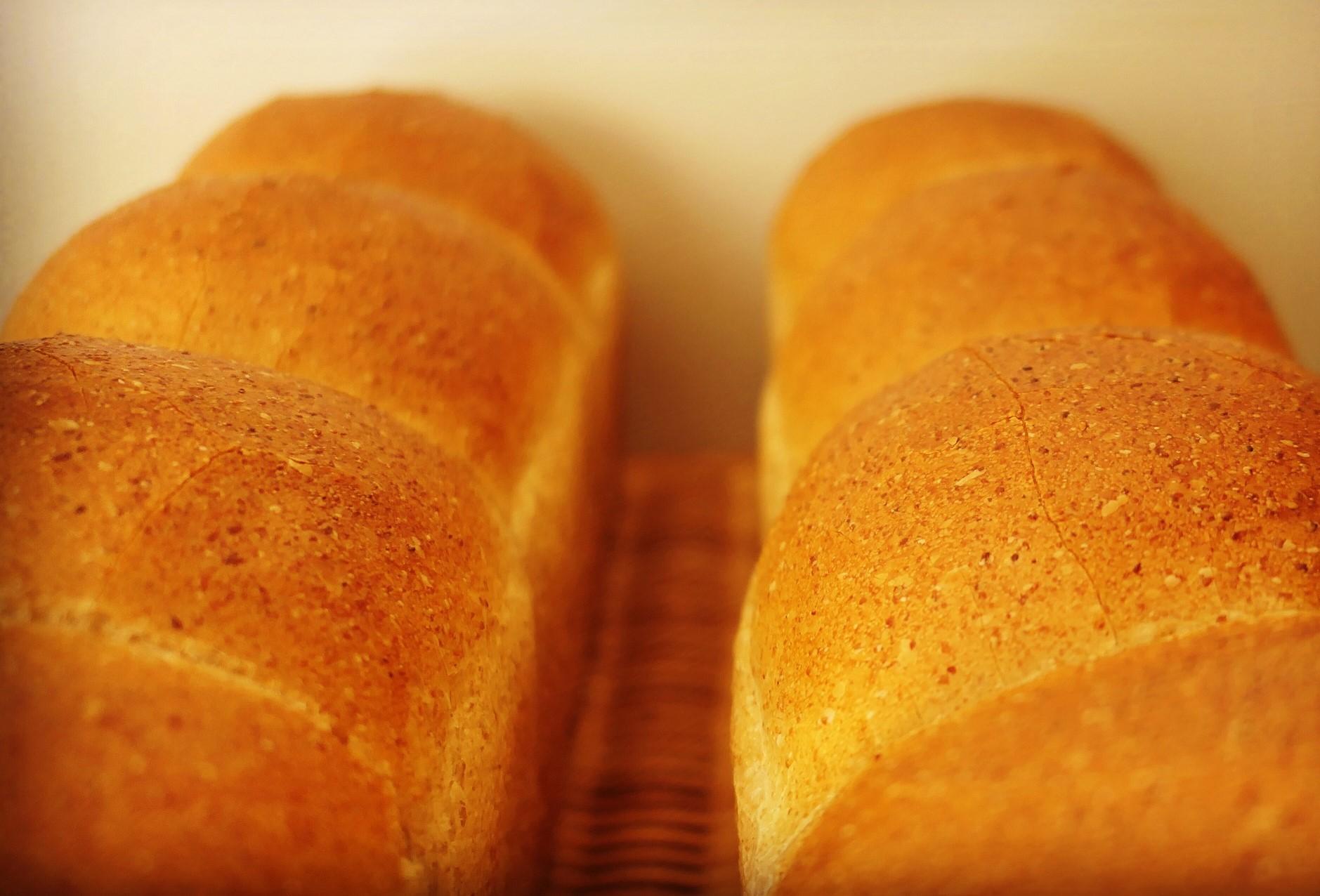 全粒粉入りのヴィーガン食パン