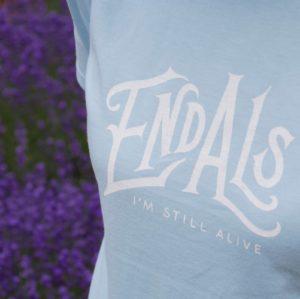 END ALS Tシャツ