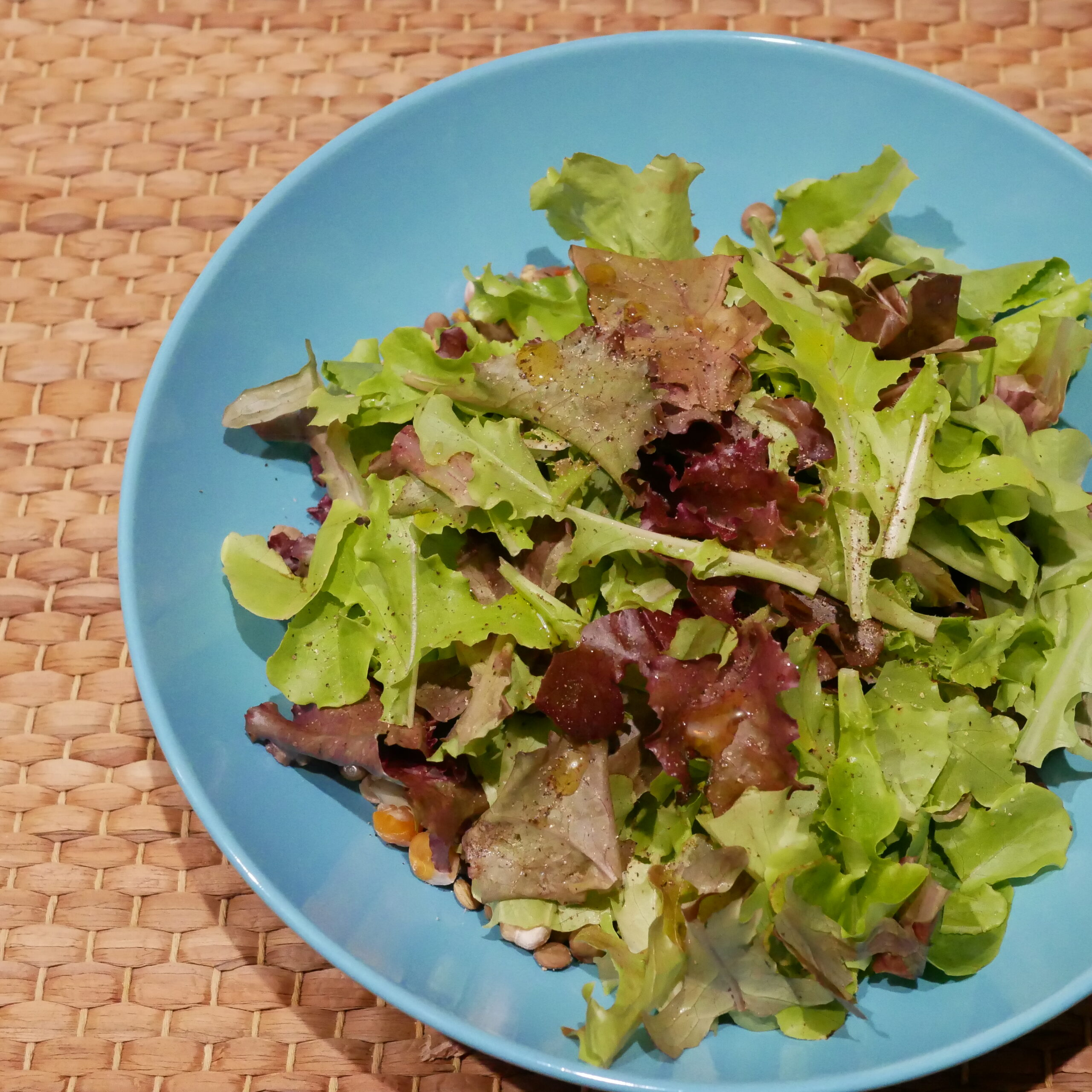 自家製野菜のサラダ